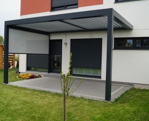 Lamellendach Gartenüberdachung