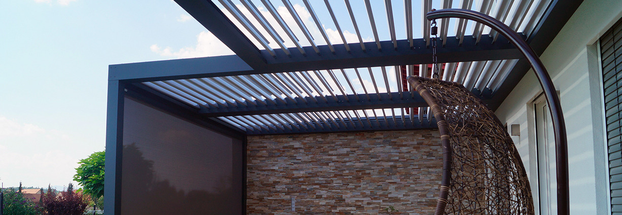 Hotiron - das besondere Lamellendach